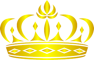gold crown made in illustrator
