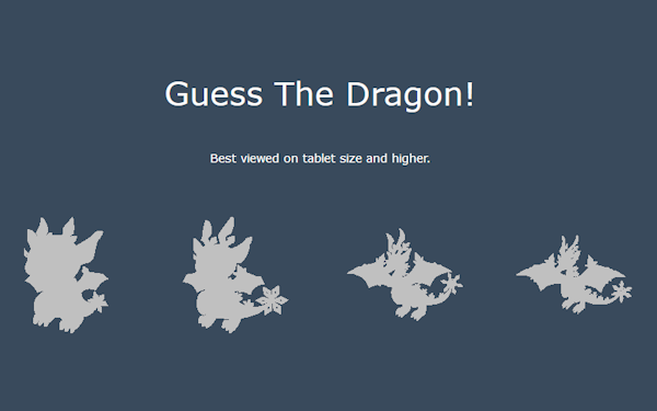 Guess the Dragon