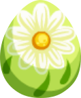Bright Daisy Egg
