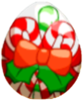 Image of Candy Cane Egg