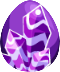 Image of Dark Amethyst Egg
