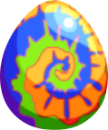 Image of Double Dye Egg