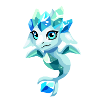 Image of Icy Aquamarine Baby