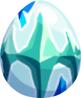 Image of Icy Aquamarine Egg