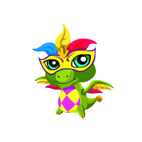 Image of Mardi Gras Baby
