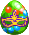 Image of Mardi Gras Egg