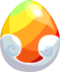 Rainbow End Egg