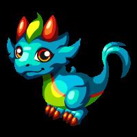Image of Rainbow Plume Baby