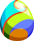 Image of Rainbow Plume Egg