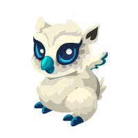 Image of Snow Owl Baby