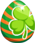 St Patricks Egg