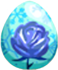 Winter Rose Egg