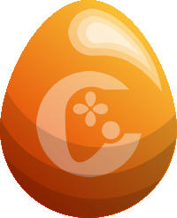 Image of Candy Horn Egg