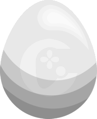 Image of Silver Candlotter Egg