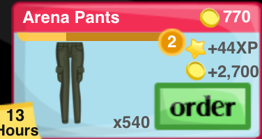 Arena Pants Item