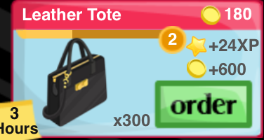 Leather Tote Item