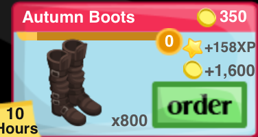Autumn Boots Item