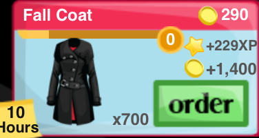 Fall Coat Item