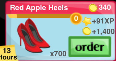 Red Apple Heels Item