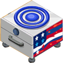 Appliance - Flag Stove