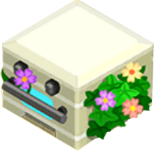 Appliance - Floral Stove