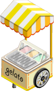 Appliance - Gelato Cart