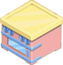 Pastel Oven B Appliance