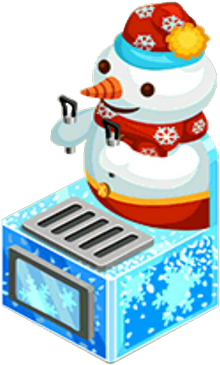 Appliance - Snowman Fountain