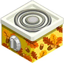 Appliance - Autumn Stove
