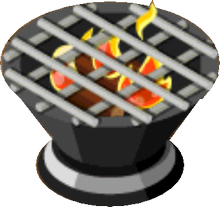 Appliance - Fire Pit Grill