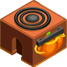 Appliance - Pumpkin Spice Stove