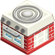 Appliance - Quaint Stove R