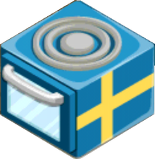 Appliance - Swedish Stove