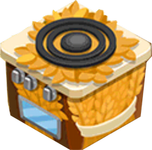 Appliance - Wheat Stove