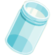 blue mason jar Part