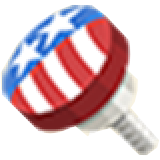 TL Part Flag Knob