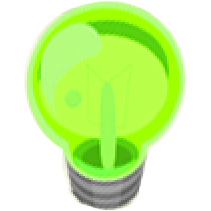 green light bulb Part