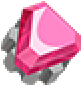 TL Part Pink Gem Knob