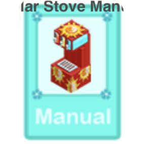 solar stove manual Part