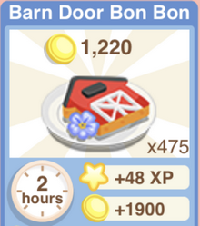 Barn Door Bon Bon Recipe