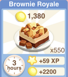 Brownie Royale Recipe