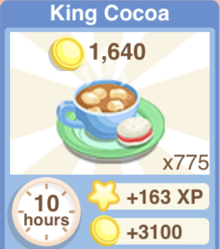 King Cocoa Recipe