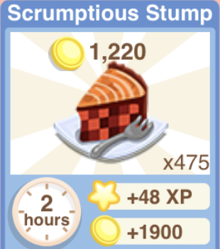 Scrumptious Stump Recipe