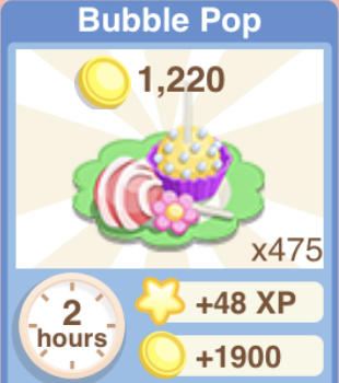 Bubble Pop Recipe