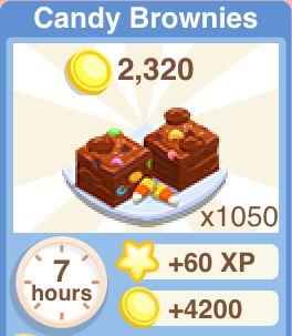 Candy Brownies Recipe