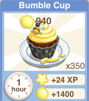 Bumble Cup Recipe