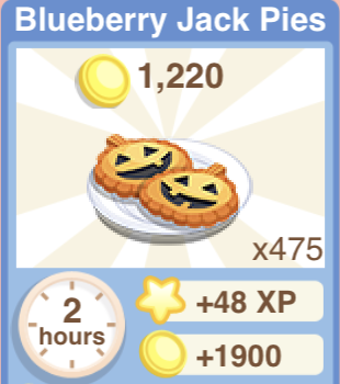 Blueberry Jack Pies Recipe