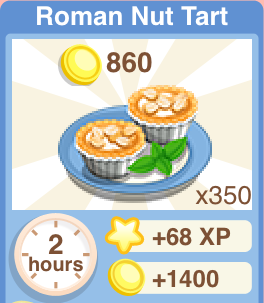 Roman Nut Tart Recipe