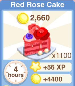 Red Rose Cake Recipe