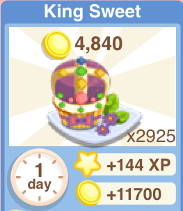 King Sweet Recipe